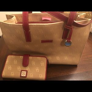 Dooney and Bourke Bag and Wallet
